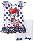 Disney Baby-Girls Infant 2 Piece Polka Dot Minnie Shirt and Short