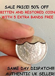 Bitten Coin 10p / Bitten and Restored Coin as performed by David Blaine!