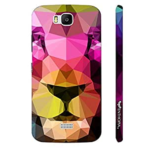 Huawei Honor Bee 3D Lion designer mobile hard shell case by Enthopia
