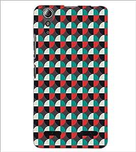 LENNOVO A6000 CIRCLE PATTERN Designer Back Cover Case By PRINTSWAG