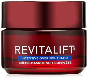 L'Oreal Paris Revitalift Triple Power Night Mask, For All Skin Types, 1.7 Ounce