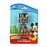 Disney Mickey Clubhouse 2pk Double Sharpeners on Blister Card