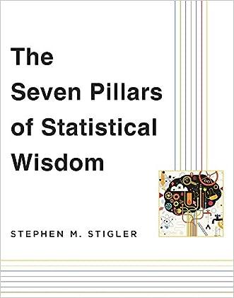 The Seven Pillars of Statistical Wisdom written by Stephen M. Stigler