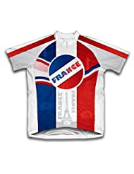 Viva La France Short Sleeve Cycling Jersey for Women