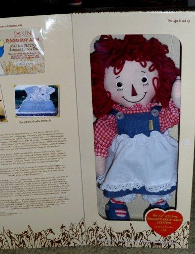 Raggedy Ann Arcola Festival Limited Edition Doll