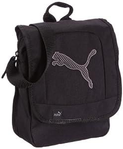 Puma UmhÀngetasche - Bolsa de acampada y senderismo, tamaño 17 x 22 x 8 cm, color negro - oscuro shadow