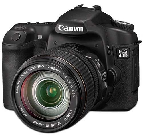 Canon EOS 40D Digital SLR Camera (incl. EF-S 17-85mm f/4-5.6 IS USM Lens Kit)