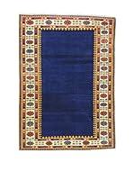 L'Eden del Tappeto Alfombra Shirvan Azul / Multicolor 152 x 213 cm