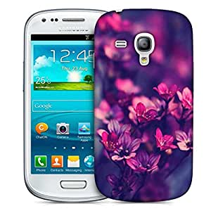 Snoogg Serene Flowers Designer Protective Back Case Cover For Samsung Galaxy S3 Mini