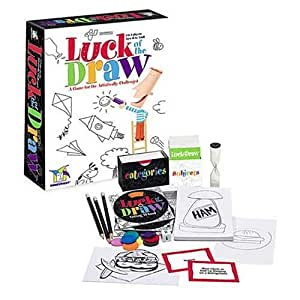 Luck of the Draw, a Game for the Artistically Challenged