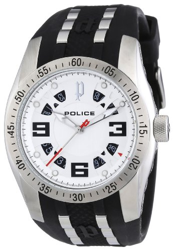 Police Men's Topgear X Watch 12892JS/04 with Silver Dial