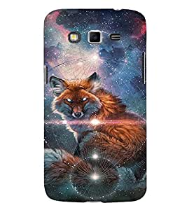 EPICCASE Abstract Wolf Mobile Back Case Cover For Samsung Galaxy Grand 2 (Designer Case)