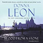 Blood From a Stone (       UNABRIDGED) by Donna Leon Narrated by David Colacci