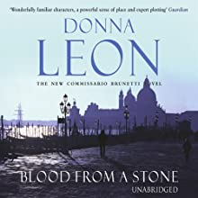 Blood From a Stone Audiobook by Donna Leon Narrated by David Colacci