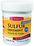 SULFUR OINTMENT 10 % POWERFUL ACNE MDICATION 2.6 OZ.