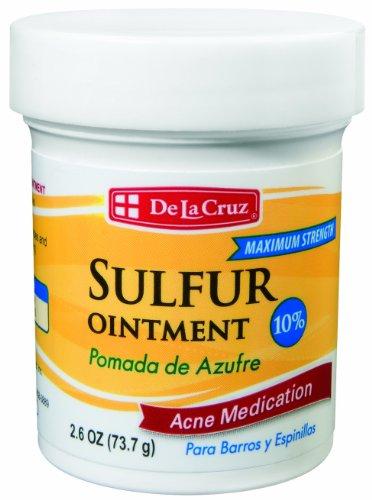 Pomada De Azufre Sulfur Ointment 2.6 Oz Acne