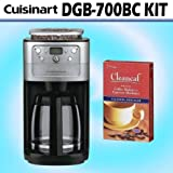 Cuisinart DGB-700BC Grind & Brew 12-Cup Automatic Coffeemaker w/ Decalcifie ....