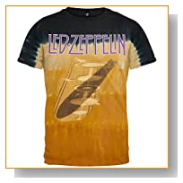 Led Zeppelin - Zep Shadow Tie Dye T-Shirt - Medium