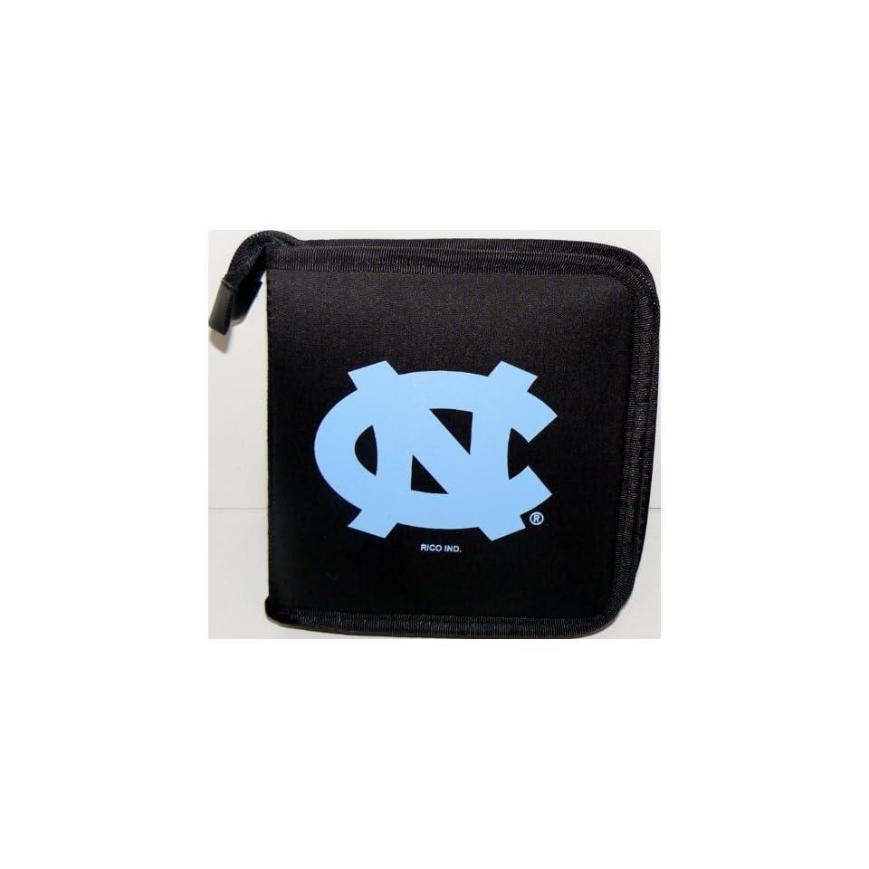 NCAA Licensed North Carolina Tarheels CD DVD Blu Ray Wallet