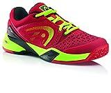 Men s Revolt Pro Court Shoe Red/Neon Yellow 10.5 D(M) US