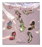 Disney World WDW Park 2014 Disney Divas Shoe Pin Trading Collection Dumbo Dollar Set Booster Starter Matches Ornament Set