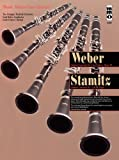 img - for Music Minus One Clarinet: Weber Concerto No. 1 in F minor, op. 73; STAMITZ Concerto No. 3 in B-flat (Book & CD) book / textbook / text book
