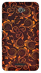 TrilMil Printed Designer Mobile Case Back Cover For Sony Xperia E4