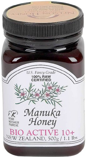 Manuka Honey Bio Active 10+, 1.1 Pound Jar (Package May Vary)