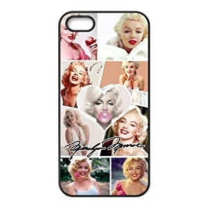 Generic Hollywood actress Marilyn Monroe Smiling face Case Cover for iPhone 5 5S