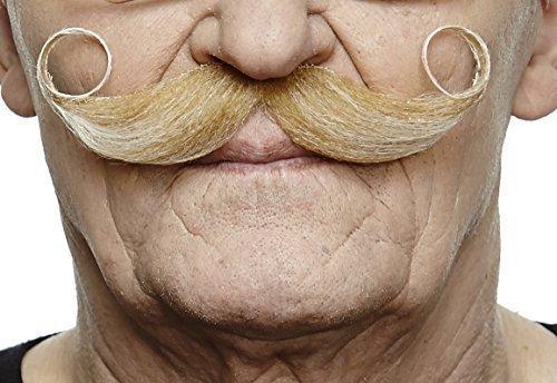 Maestro blond moustache