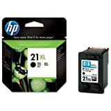Hewlett Packard [HP] No. 21XL Inkjet Cartridge Page Life 475pp Black [for Deskjet D1560] Ref C9351CE