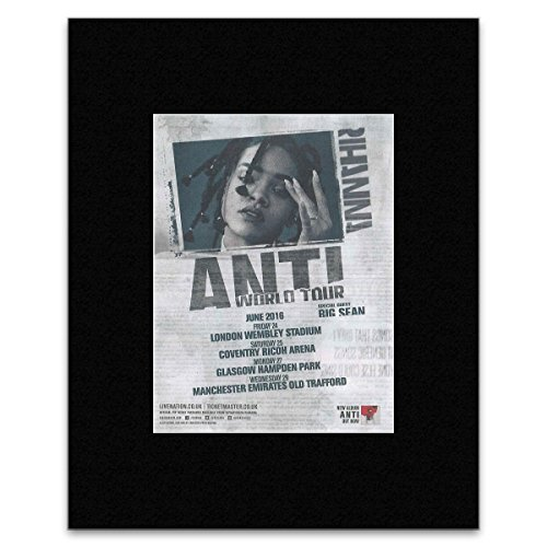Rihanna - Anti World Tour 2016 Matted Mini Poster - 40.5x30.5cm