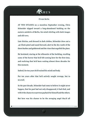 Icarus E853BK Lettore e-book