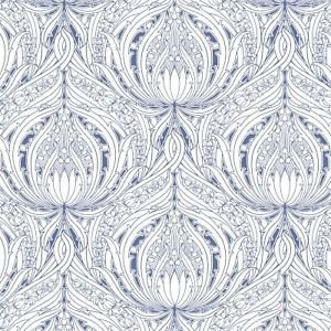 Graham and Brown Voyesy Wallpaper - Violet from New A-Brend