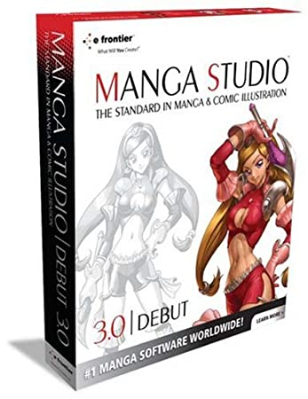 Manga Studio Debut 3.0 (Mac) [OLD VERSION]