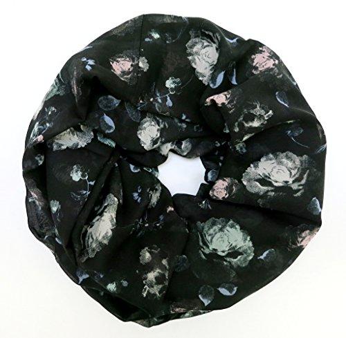 accessu-Echarpe-Foulard-pour-Femme-Floral-Lace-Design-bluepetrol