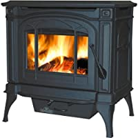 Napoleon 1100c Wood Burning Stove - Blac...