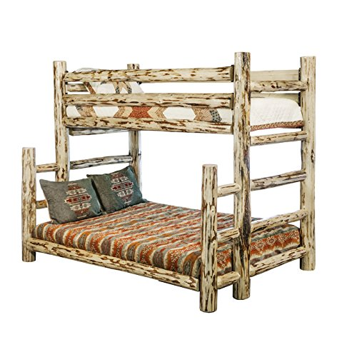 Montana Woodworks Collection Full Bunk Bed, Twin, Ready To Finish