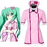 Vocaloid Hatsune Miku Nurse Uniform Cosplay Costume