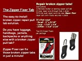 Zipper Fixer Kit: SM; 2-Pack