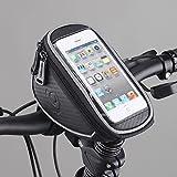 Сумка для телефона на руль Bicycle Handlebar Bag Screen Touchable Bike Phone Bag Cell Phone Holder Pouch Pannier for 5.0 inch or under 5.0 inch cell phones
