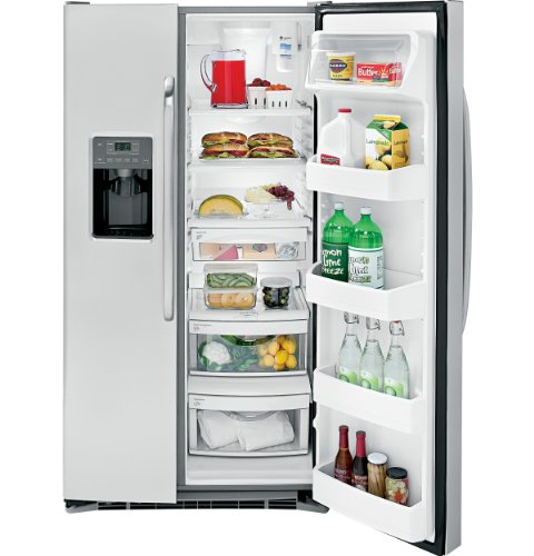 Black Friday 2013 GE GSHS6HGDSS 25.9 Cu. Ft. Stainless Steel Side-By-Side Refrigerator - Energy Star