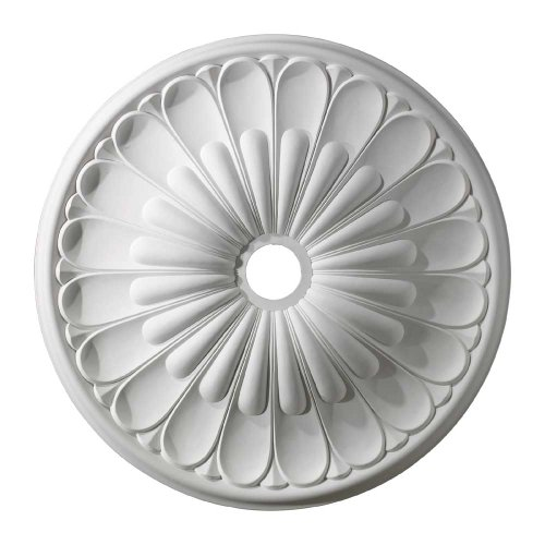 ELK Lighting M1009WH Melon Reed Ceiling Medallion 32
