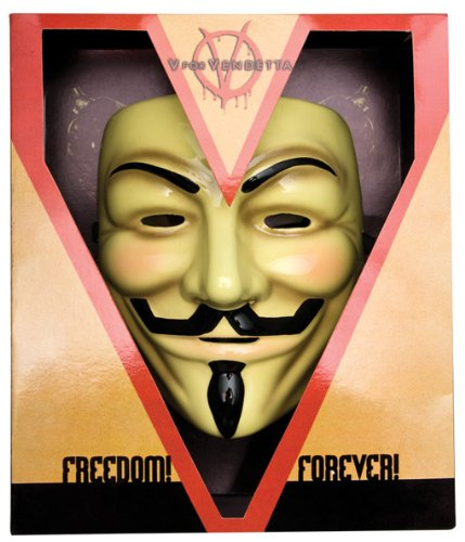 V per Vendetta Maschera Deluxe