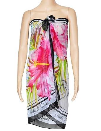 World Pride Chiffon Sexy Wrap Dress Sarong Beach Scarf Shawl Dress up Wrap