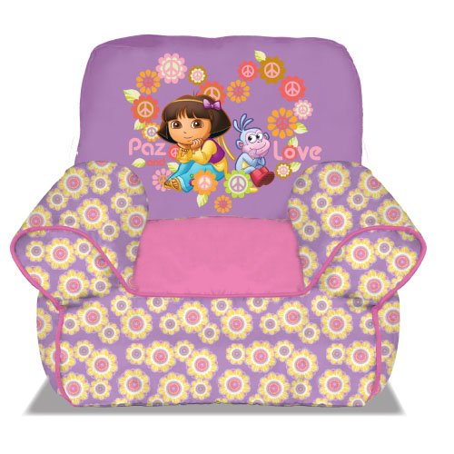 Dora The Explorer Bean Bag Sofa Chair front-1022018