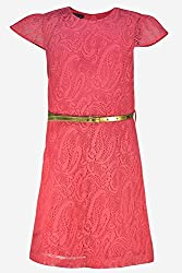 LACE RED TUNIC