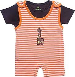 BIO KID Baby Boys' Clothing Set (BTI-197-68, Multicolour, 3-6 m)