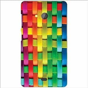 Microsoft Lumia 540 Dual SIM Back Cover - Mixed Colors Designer Cases