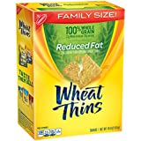 Wheat Thins Snacks, Reduced Fat, 14.5 Ounce Box (Pack of 6)